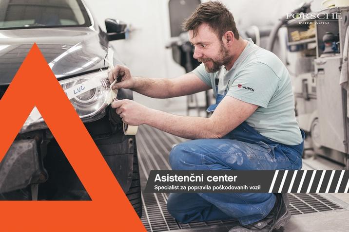 Asistenčni center Porsche Slovenija