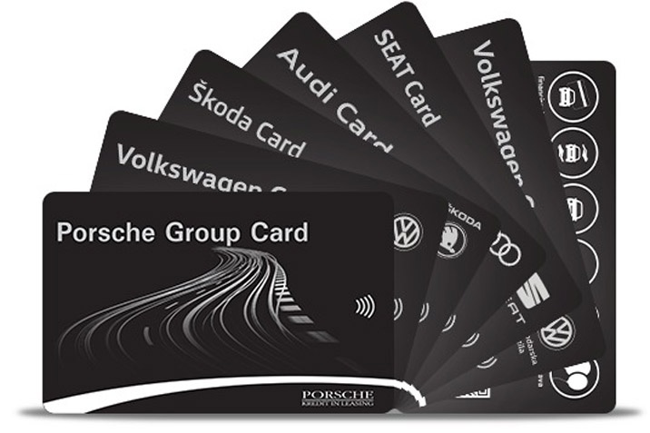 PORSCHE GROUP CARD