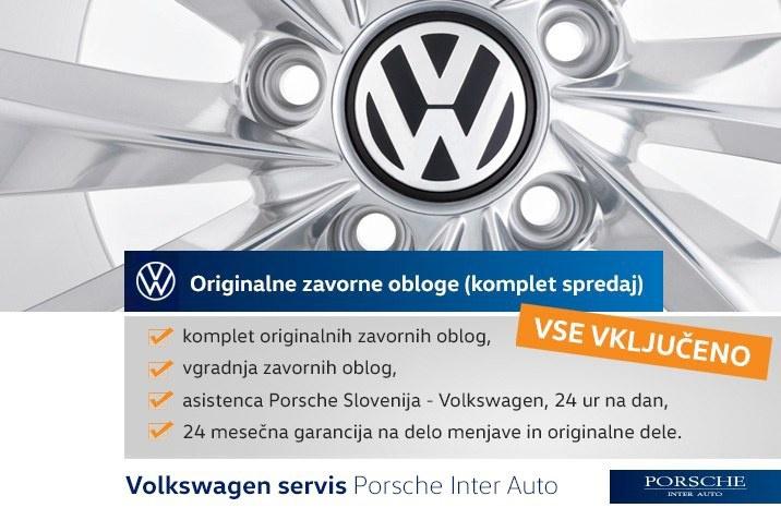 VW GOLF 5 6 7 8 ZAVORNE PLOŠČICE
