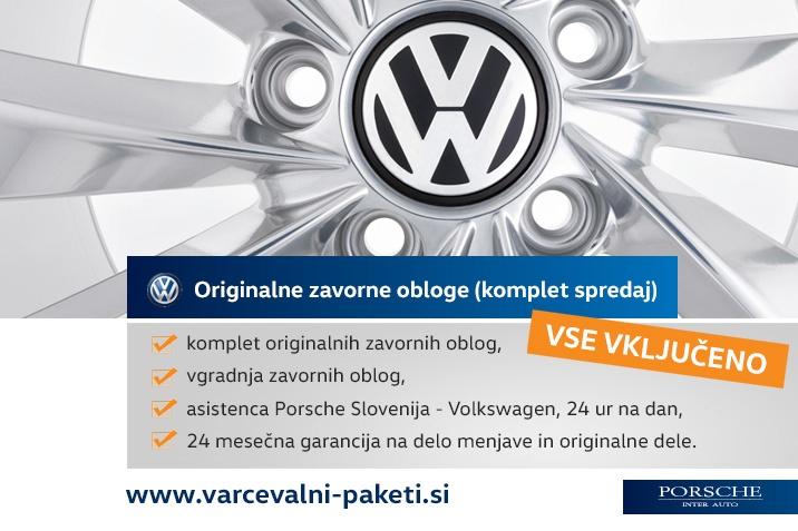 VW servis zavorne ploščice Touran Volkswagen